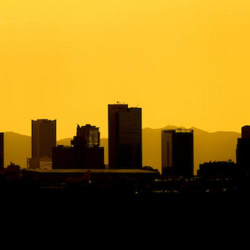 A Silhoutte of Downtown Arizona